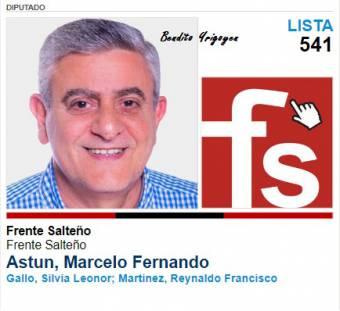 Marcelo Astun-Lista 541