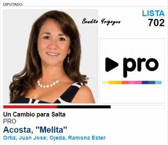 Melita Acosta-Lista 702