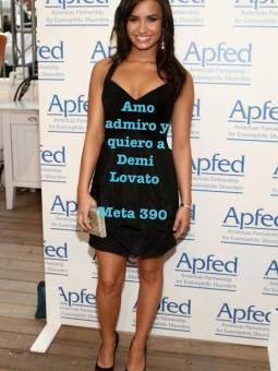 """""""Amo admiro y quiero a Demi Lovato"""""""