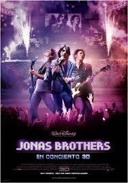 Jonas Brothers en concierto 3D.