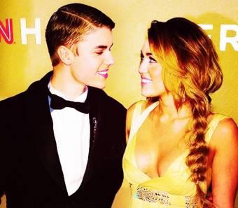 Con Miley Cyrus