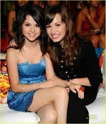 Selena Gómez y demi lovato