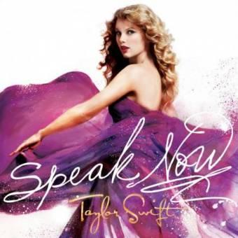 """""""Speak Now"""" Taylor Swift."""