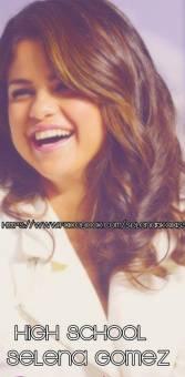 High School Selena Gomez