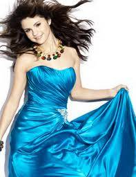 vestido color azul