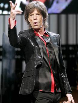 Mike jagger Ingles (The Rolling Stones)
