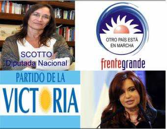Carolina Scotto (Frente Para La Victoria (Partido Para La Victoria - Frente Grande - Partido Comunista - Partido  Intransigente - Partido Humanista - Partido Solidario - Acción Para El Cambio) )