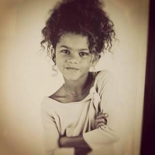 Porque Zendaya era re-linda de pequeña