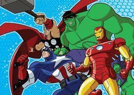 los vengadores los heroues mas poderosos de planeta