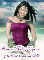 Amo a Miley Cyrus y lo haré toda mi vida