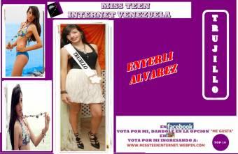 Miss Teen Internet Trujillo- Enyerli Alvarez