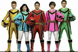 Power rangers Fuerza misstica