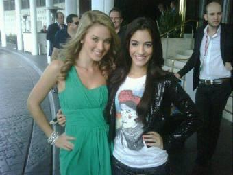 Sol Rodriguez y Kimberly Dos Ramos