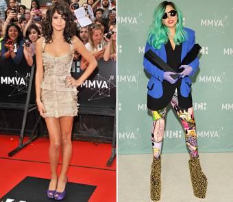 que comparen a Lady Gaga (mama monster supe talentosa) con las androides prefabricadas de disney