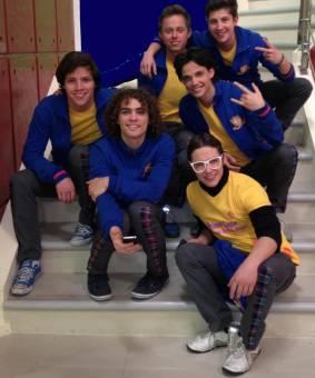 Archie, Eddy, Richie, Elio y Kevin