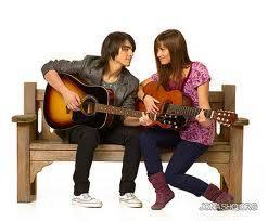 Mitchie y Shane de Camp Rock