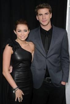 Miley Cyrus y Liam Hemsworth