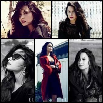 Demi Lovato revista Elle.