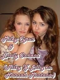 Miley Cyrus & Emily Osment (Miley y Lilly En Hannah Montana)
