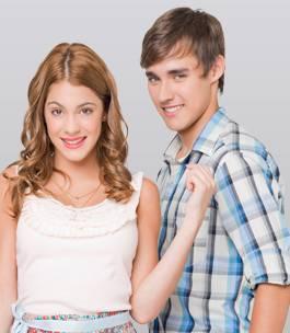 Jorge Blanco (Leon) y Martina Stoessel (Violetta)