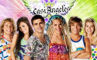 Casi Angeles - Lali Sposito,Peter Lanzani,Nicolas Riera y Eugenia Suarez.