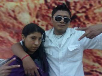 Evelyn y Andres